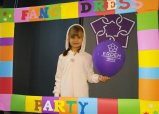 AT FANCY DRESS PARTY