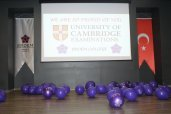 CAMBRIDGE EXAMINATION CEREMONY - CAMBRİDGE SERTİFİKA TÖRENİ